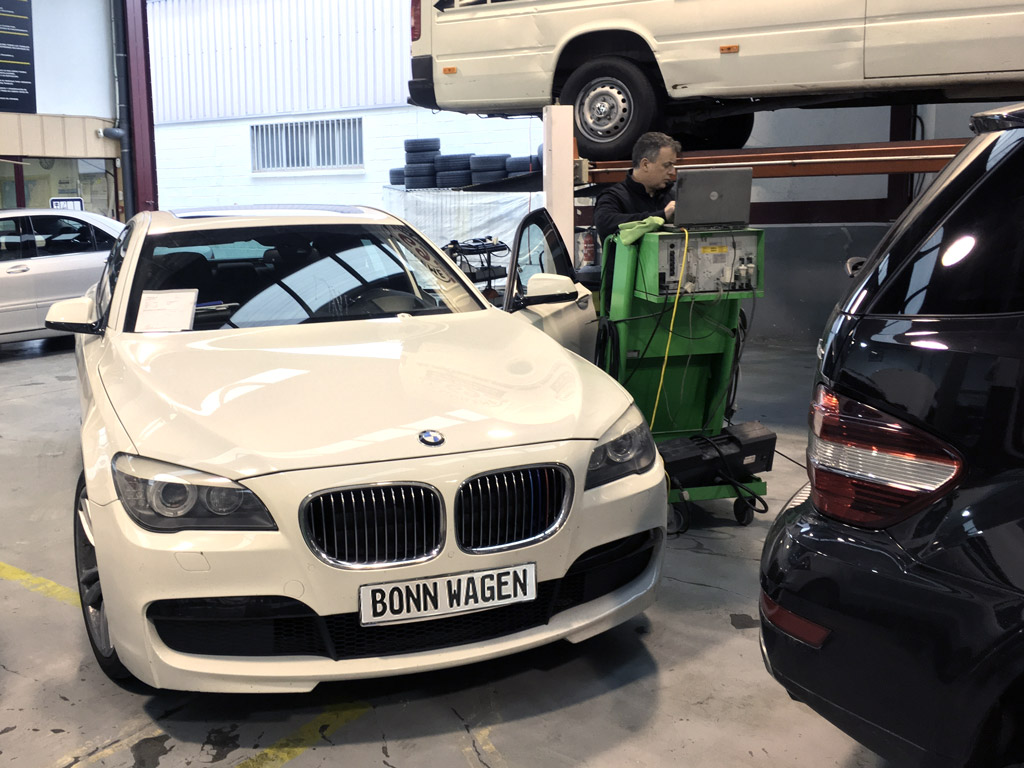 diagnosis BMW